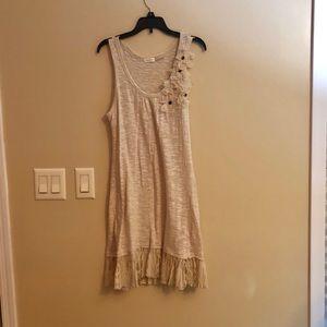 Pretty cream lace dress/tunic